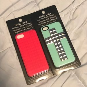 NEW phone cases (fits iPhone 5 best)